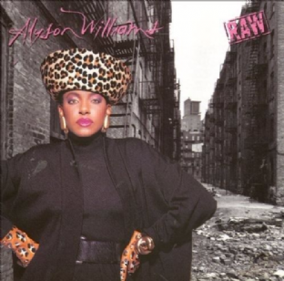 Alyson Williams - Raw (LP) (G/VG)